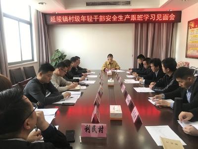 丹阳延陵镇:13名村干部将成为乡镇安全监管生力军