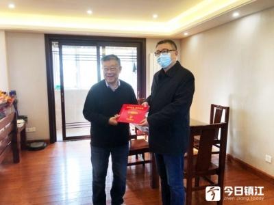省委宣传部领导来镇慰问赵亚夫