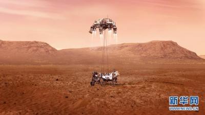 """美國""""毅力""""號火星車成功著陸 將探索火星生命跡象"""