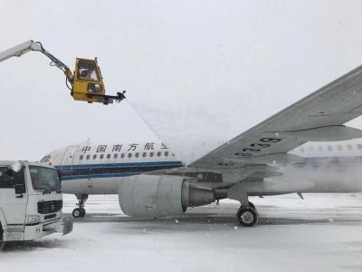 降雪量較大 哈爾濱機場40個航班受影響