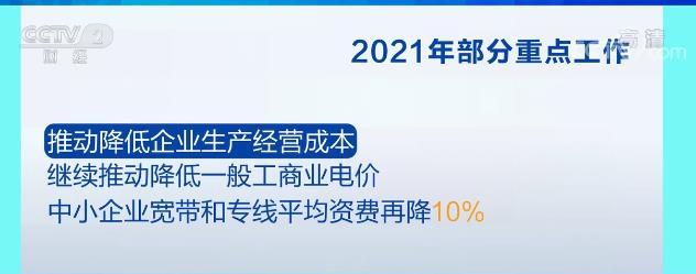 直通兩會·解讀政府工作報告 | 2021年宏觀經濟政策穩 企業經營成本降