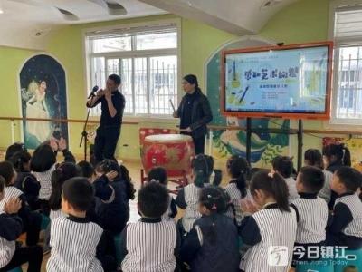 文心藝術講座走進幼兒園