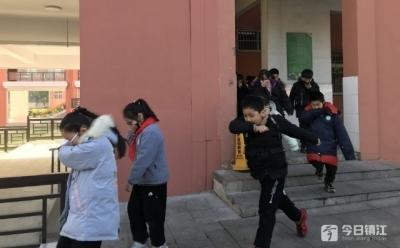 镇江新区实小开展消防主题教育活动