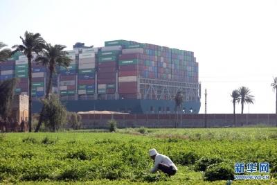 埃及方面已为搁浅货轮救援制定多套预案