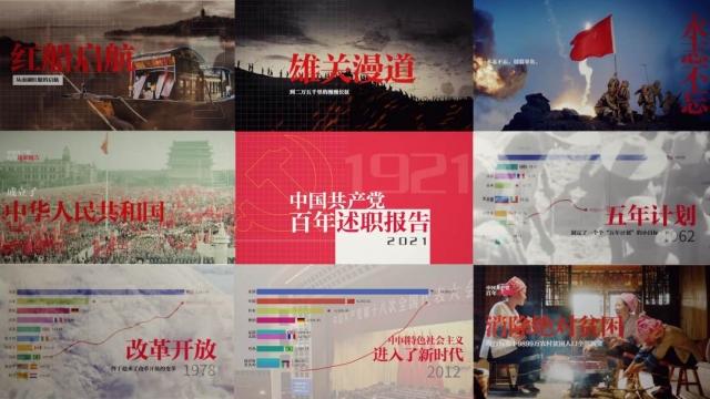 中國共產黨百年述職報告