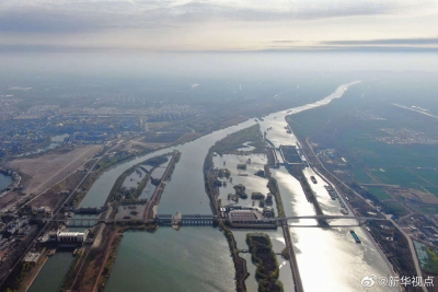 南水北調東線北延應急供水工程主體完工