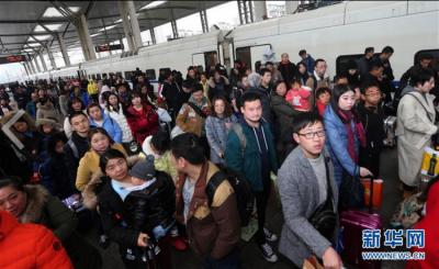 春運落幕,江蘇累計發送旅客超5700萬人次,與前年同比降四成