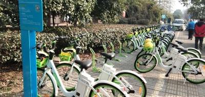 本月丁卯迎2000辆有桩共享助力自行车 可与市区助力车通借通还