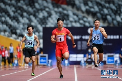 蘇炳添創男子百米賽季世界最好成績
