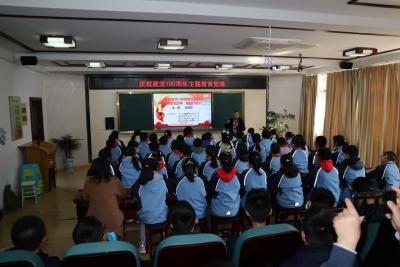 街道社區學校聯合開展青少年主題教育