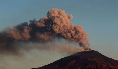 埃特納火山噴發