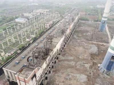 镇江警方圆满完成谏壁电厂#7-#10发电机组厂房拆除爆破安保工作