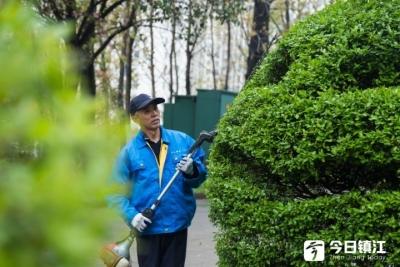 """看,江大校园里的树木还会""""笑"""""""