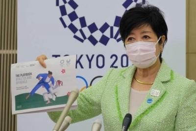 东京奥运会防疫新规颁布 运动员需每天接受检测