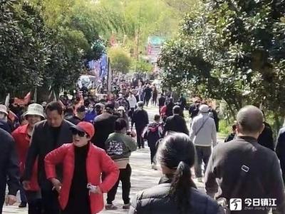 镇江新区综合行政执法局保障黄明节安全