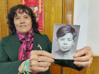 1939年尹文福參加新四軍后就與家里斷了聯系  參軍時才14歲,三叔尹文福你在哪里?