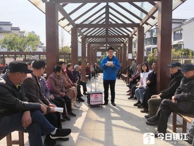 官塘桥街道抓牢三个阵地 推动党史学习教育走深走实