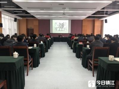 市委组织部举办党史学习教育讲座