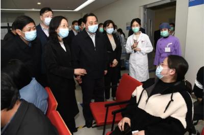 副省长陈星莺来镇调研新冠病毒疫苗接种工作