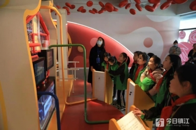 探索科学奥秘  激发科学兴趣  镇江科技馆迎来第一批集体参观的小客人