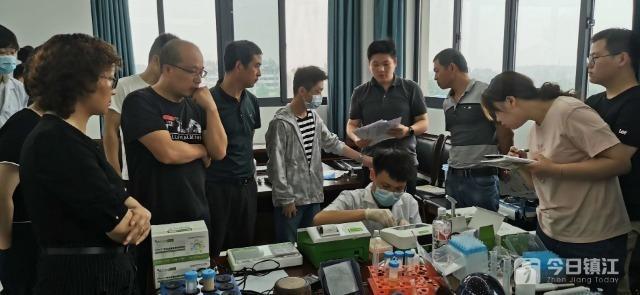 镇江举办小麦质量安全指标快检培训班