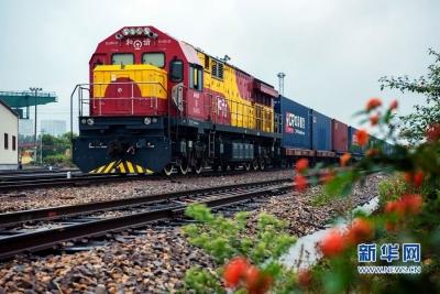 中欧班列累计开行近4万列 通达欧洲22个国家160多个城市