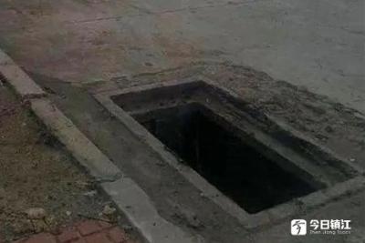 """丹阳一七旬老太为挣""""外快"""",盗窃了几十个雨水井盖"""