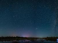 五大连池风景区星空如画