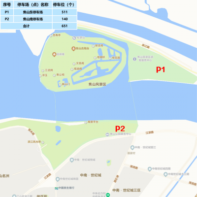 国庆假期出行指南之镇江市区停车攻略