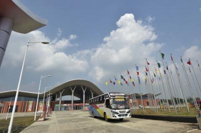 中国援建的国父孟中友谊展览中心正式启用