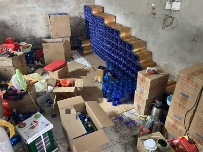 镇江捣毁制售假酒窝点10余处 涉案金额达400余万元