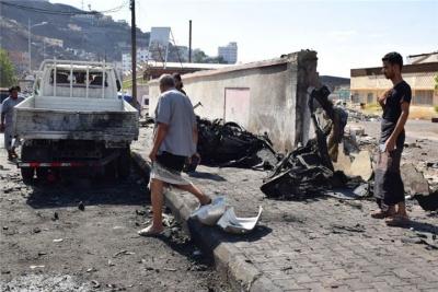 也门亚丁发生汽车爆炸袭击致5人死亡